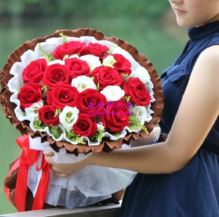qq头像白玫瑰于红玫瑰相关图片